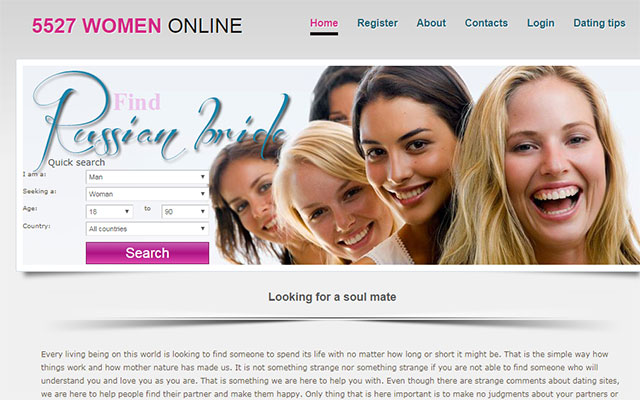 Fake russian dating websites